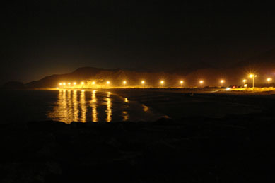 Coast Road at Night